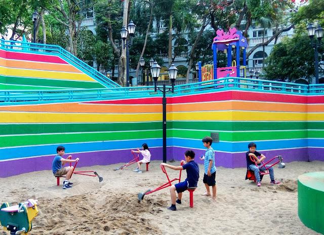 hong kong park playground