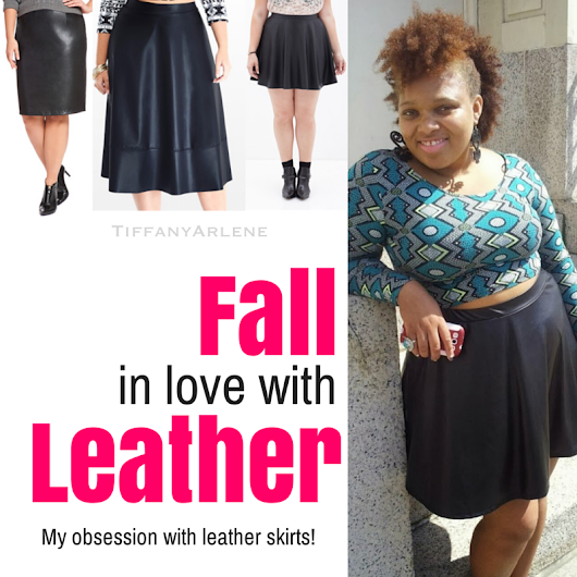 FALL in Love with Leather Skirts