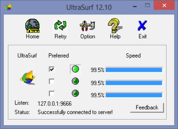 ultrasurf gratuit 2010