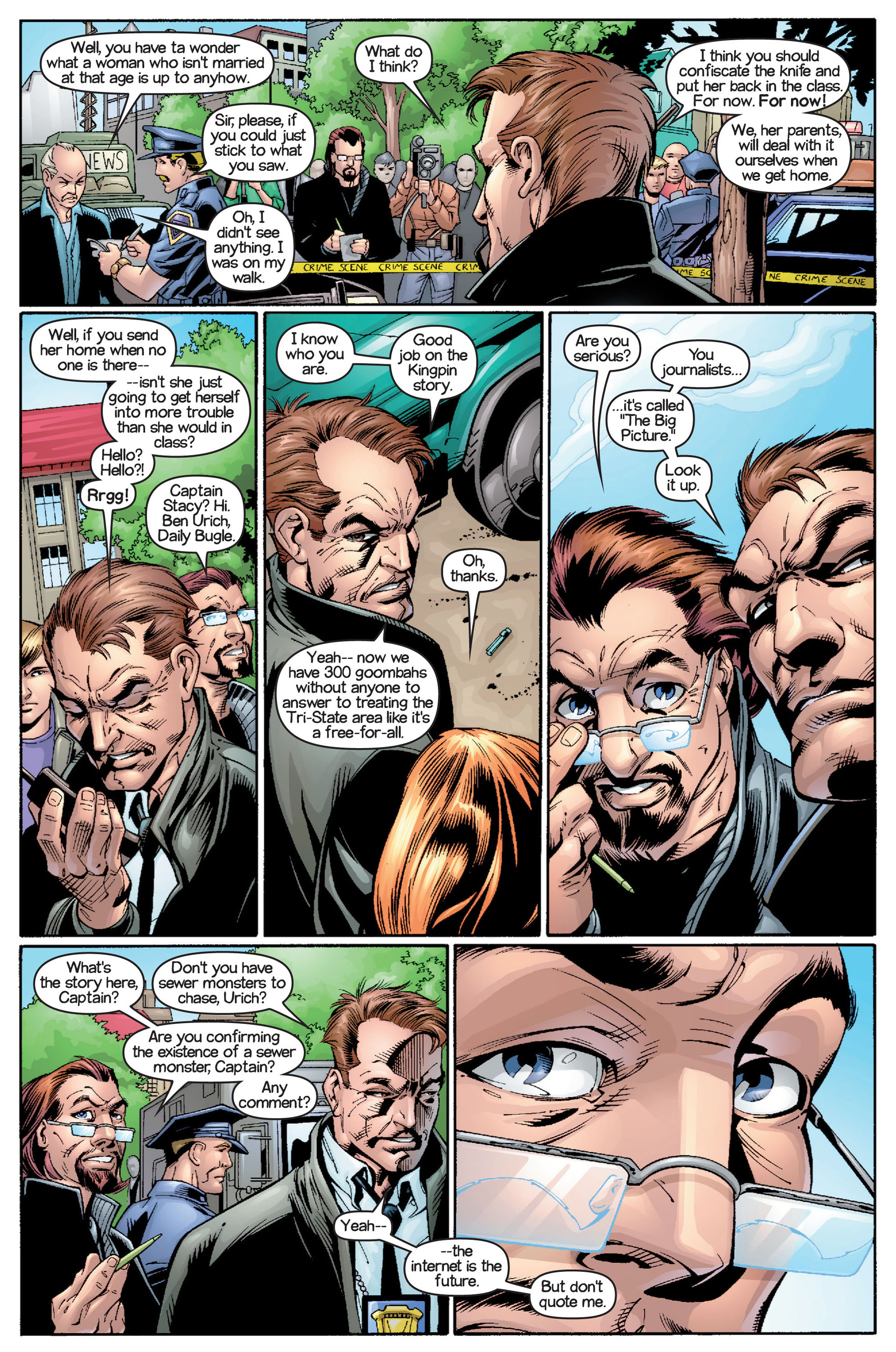 Read online Ultimate Spider-Man (2000) comic -  Issue #15 - 15