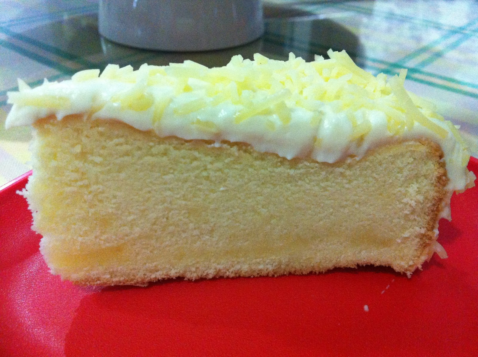 A RecipeTester...: Snow Cheese Cake