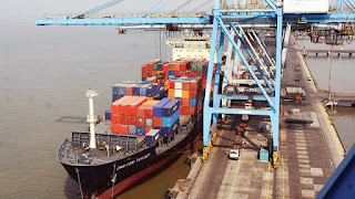 Indian sea ports container capacity