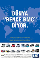 Dünya BMC yi tanıyor