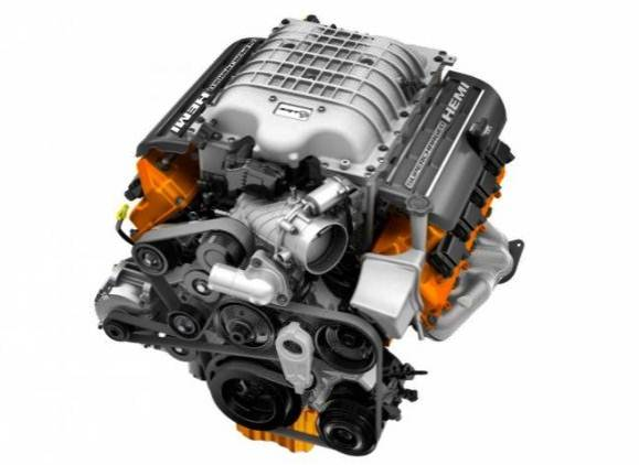 2017 Dodge Charger Scat Pack Engine