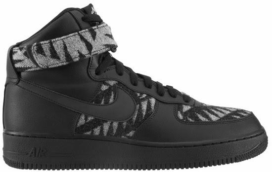 outlet store 8ae43 25fa7 Nike Air Force 1 High PWM N7 BlackBlack-Summit White ...