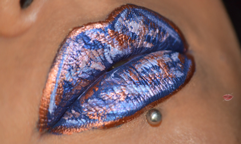 Holographic Lips inspired by Greta_AG