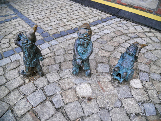 The dwarves of Wroclaw, Poland