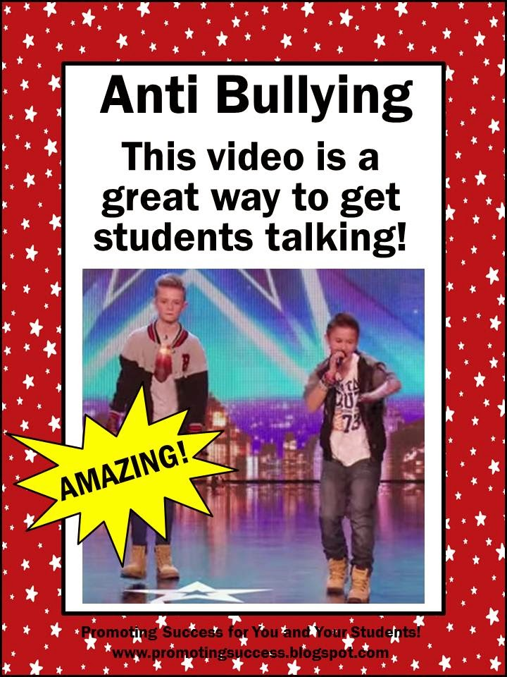 Anti Bullying Teachers Pay Teachers Promoting-Success