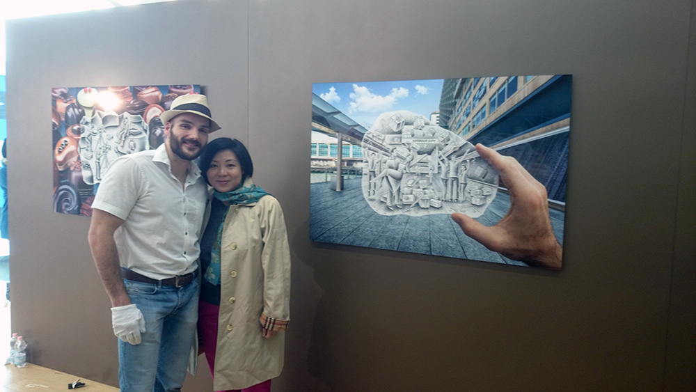 Ben Heine and Tracy Chung