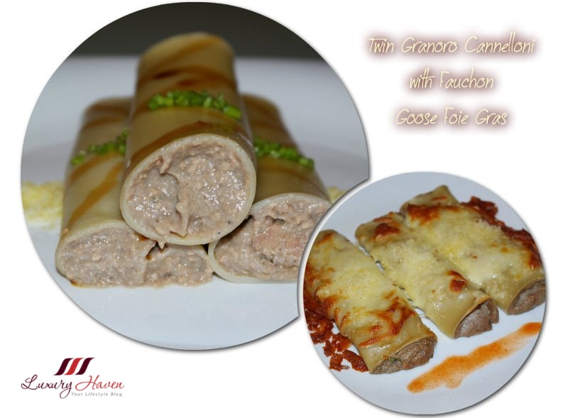 stuffed granoro cannelloni with fauchon foie gras recipe