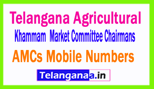 Khammam AMCs Mobile Numbers List Telangana