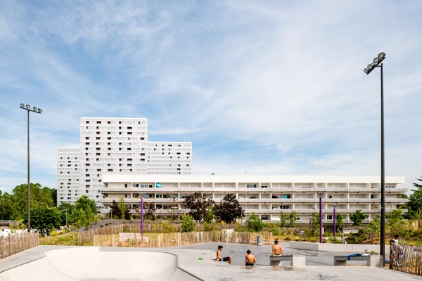Urban renovation genicart lormont in bordeaux by lan for W architecture bordeaux