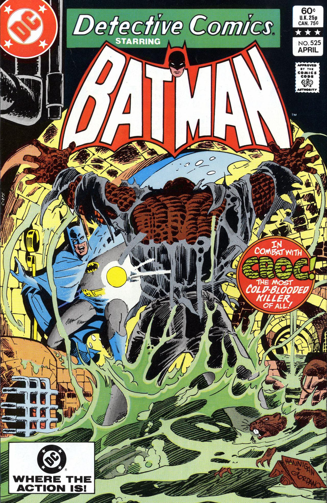 Detective Comics (1937) 525 Page 1