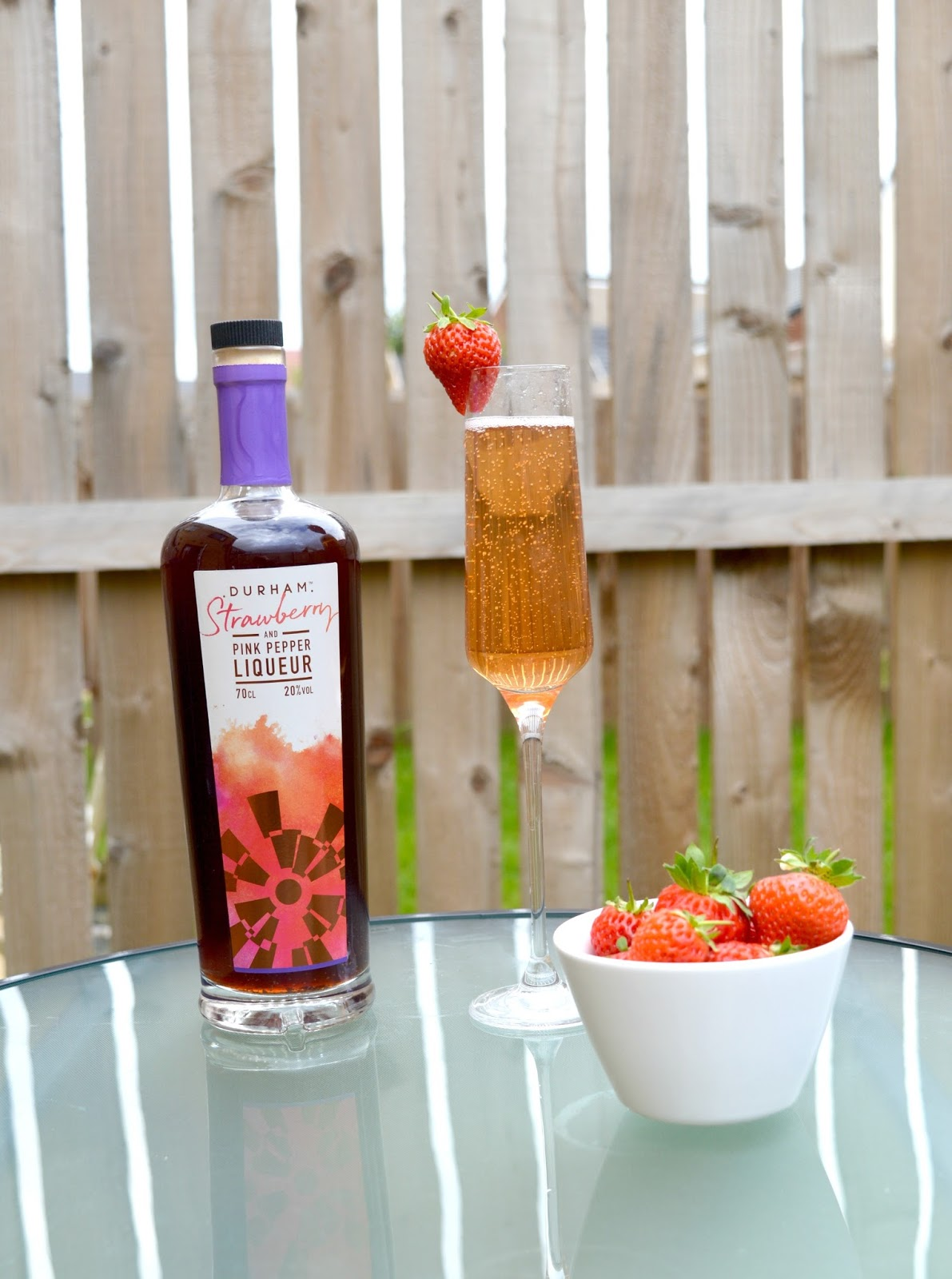 Durham Distillery - Strawberry and Pink Pepper Liqueur