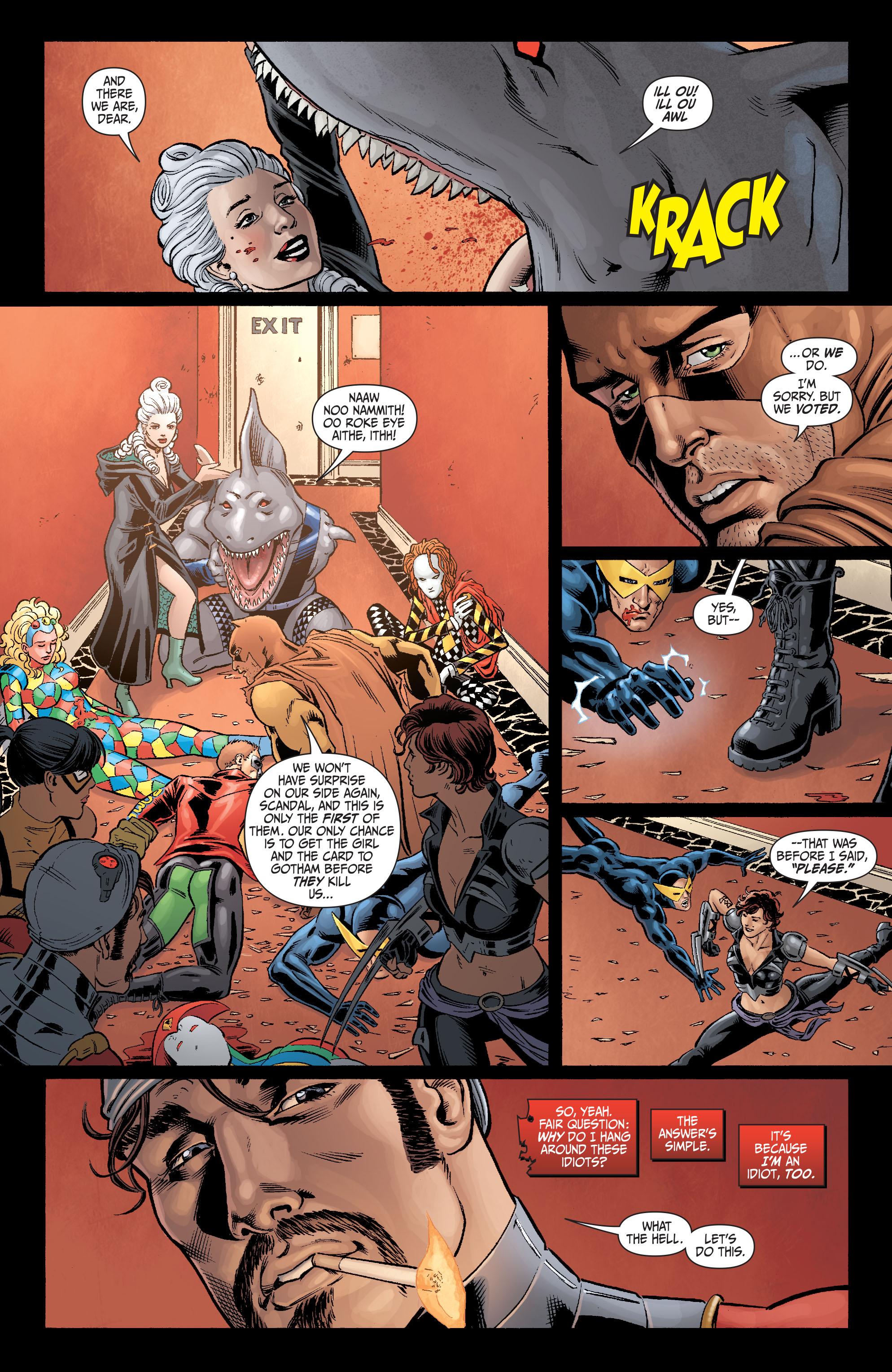 Read online Secret Six (2008) comic -  Issue #5 - 21
