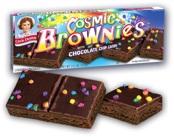 Hungry Hungry Highness Cosmic Brownies
