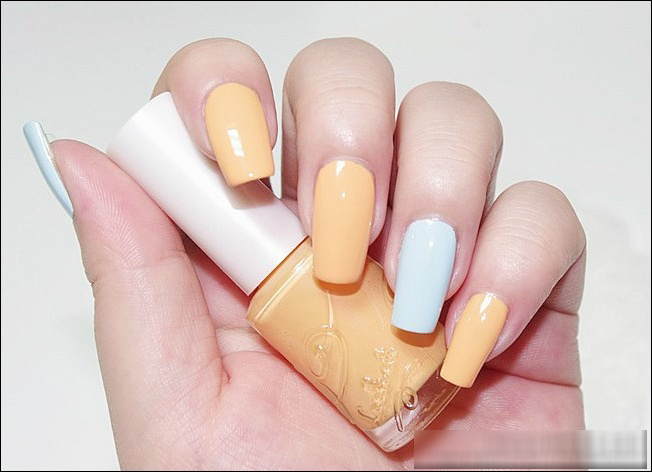 Beauty Story ETUDE HOUSE Look At My Cotton Candy Nails Review