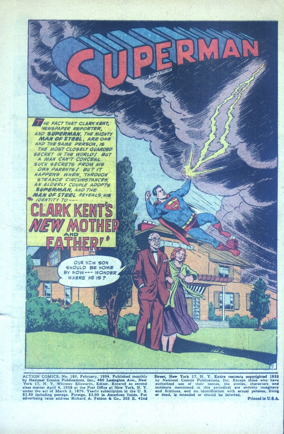 Read online Action Comics (1938) comic -  Issue #189 - 3