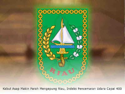 Kabut Asap Makin Parah Mengepung Riau, Indeks Pencemaran Udara Capai 400