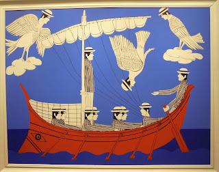 το έργο Σειρήνες - Οδυσσέας του Γιάννη Γαΐτη στην Εθνική Πινακοθήκη
