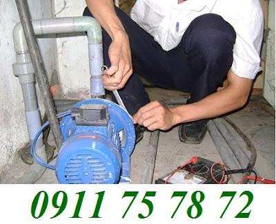 Sửa máy bơm nước tại nhà quận 6
