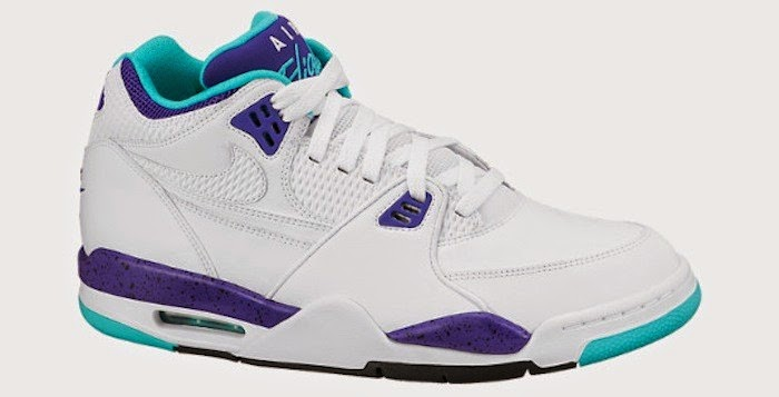 new concept 0e4f2 8781e On the same day that the revived franchise unveiled new jerseys in their  iconic purple and teal colors, the classic Nike Air Flight 89 is spotted in  the ...