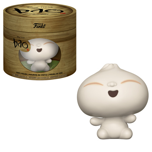 Pixar Bao Funko Vinyl Figure with Bamboo Steamer Packaging