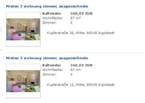Wohnung Mieten Bielefeld  Zimmer