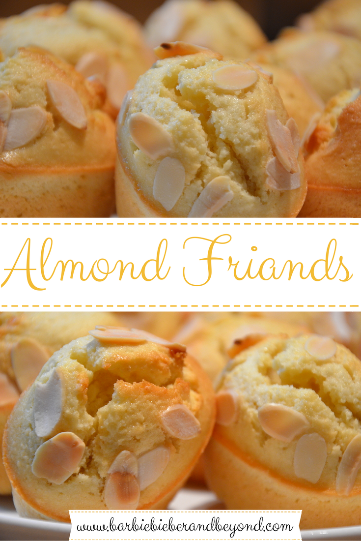 Almond Friands - Recipe
