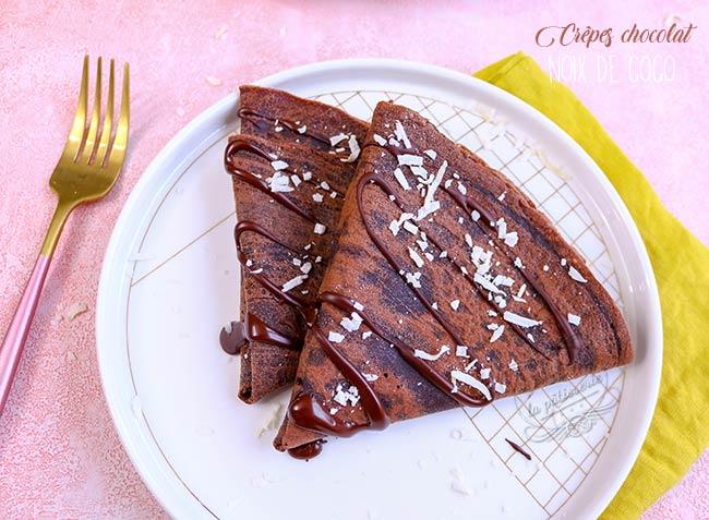 crepes au chocolat