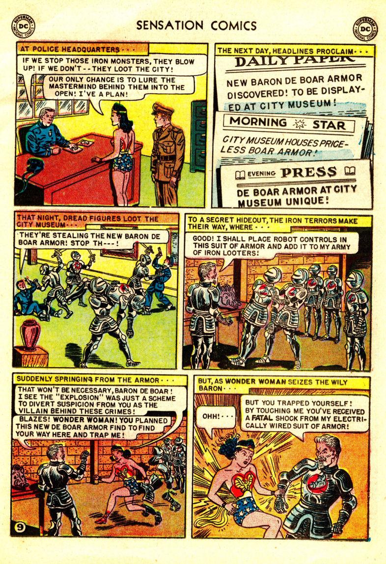 Read online Sensation (Mystery) Comics comic -  Issue #106 - 11