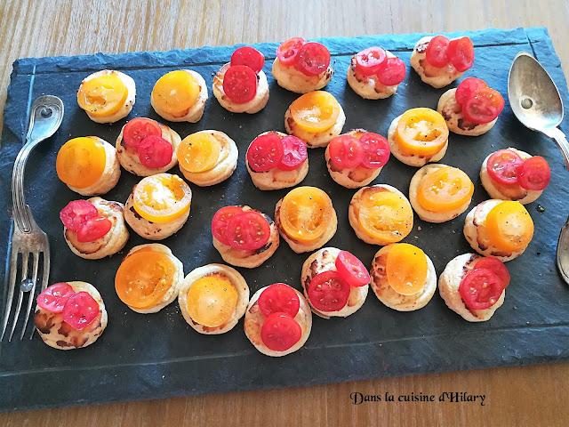 Tartelettes tomate-ricotta à picorer tout l'été - Dans la cuisine d'Hilary