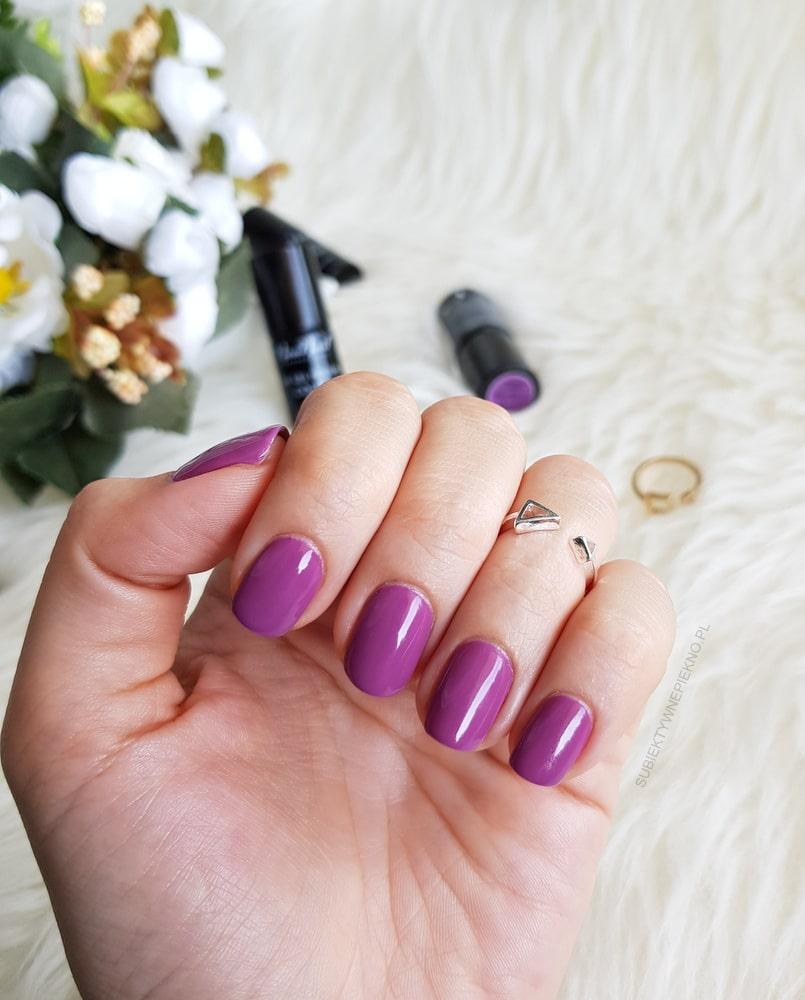 Violet Garden NeoNail 5603 swatche na paznokciach