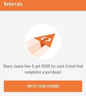 Get Free N500 Naira with Jumia one app