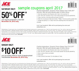 Ace Hardware coupons for april 2017