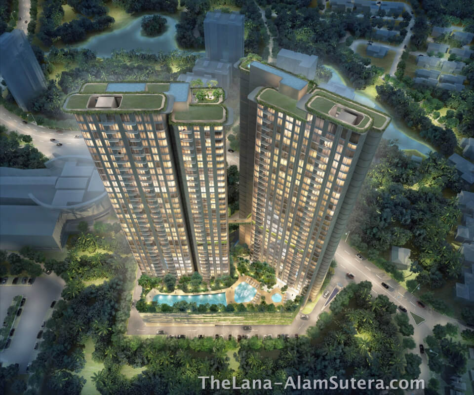 The LANA Apartment Alam Sutera