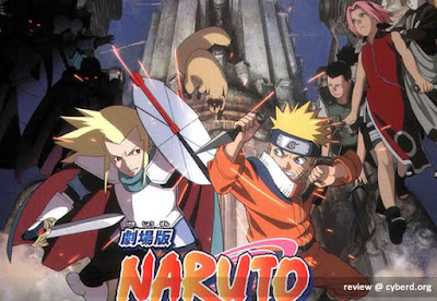Naruto The Movie 2  Legend of the Stone of Gelel