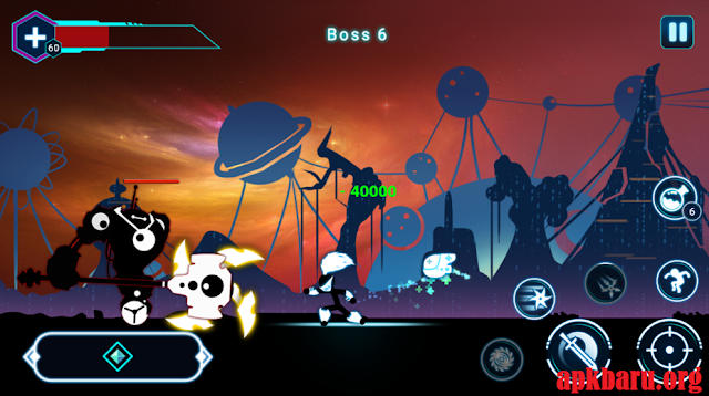 Stickman Ghost 2: Galaxy Wars v4.1.3 Mod Apk Terbaru
