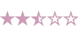 Dos estrellas y media de cinco