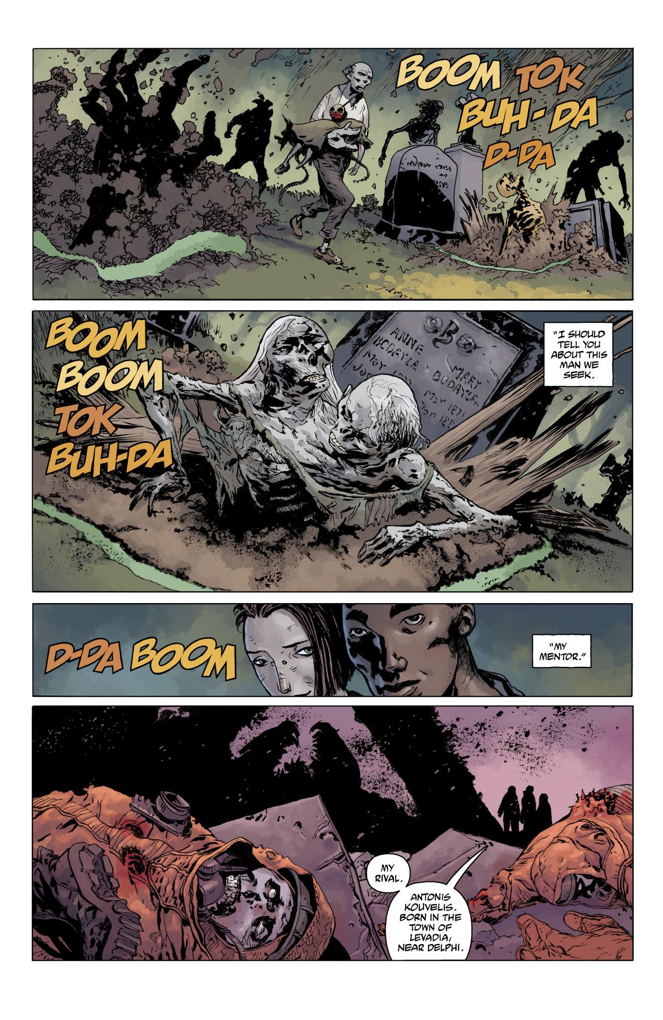 Read online Abe Sapien comic -  Issue #11 - 11