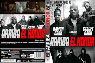 CARATULA Honor up - ARRIBA EL HONOR 2018 [COVER DVD]