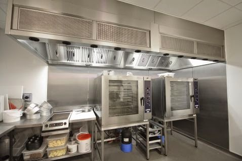 Industrial and Commercial Ventilation  Kitchen Hoods