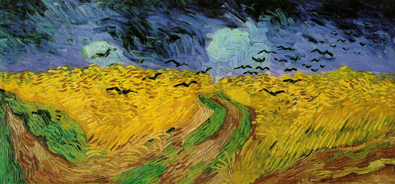 ヴァン・ゴッホの『烏のいる麦畑』