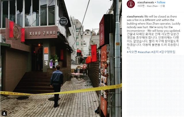 Henry Lau restaurant fire