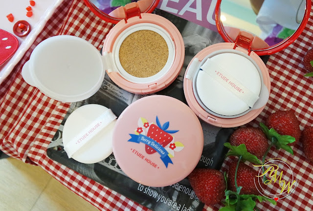 A photo of Etude House Berry Delicious Any Cushion