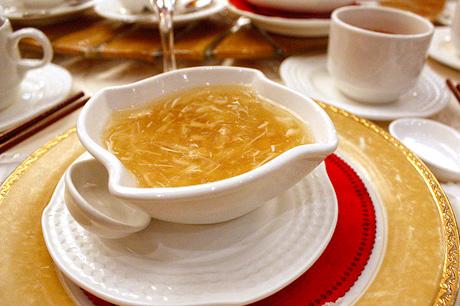 sup sirip ikan yu yang sedap