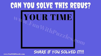 Rebus Puzzle to test your intelligence