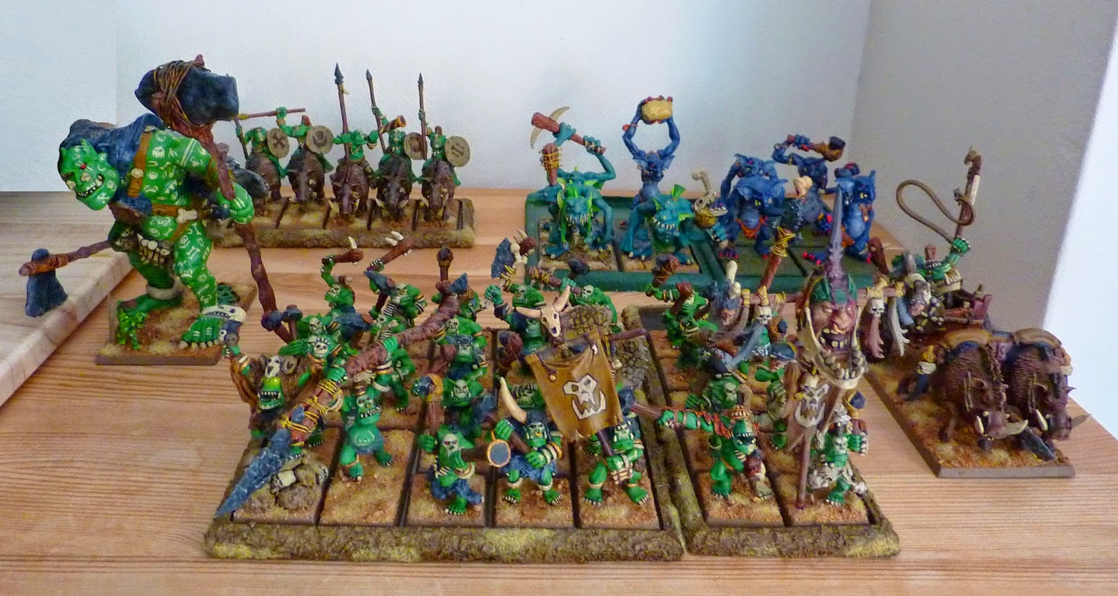 Savage Orc army