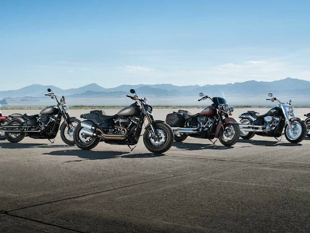 2018 Softail Series in INDIA