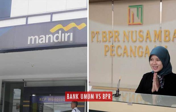 Perbedaan Bank Umum dan BPR